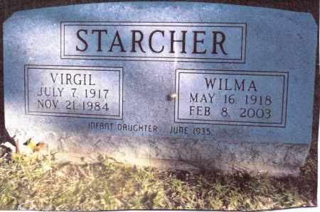 STARCHER, INFANT DAUGHTER - Gallia County, Ohio | INFANT DAUGHTER STARCHER - Ohio Gravestone Photos