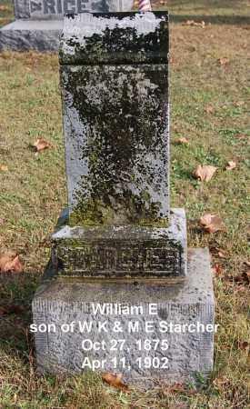 STARCHER, WILLIAM E - Gallia County, Ohio | WILLIAM E STARCHER - Ohio Gravestone Photos