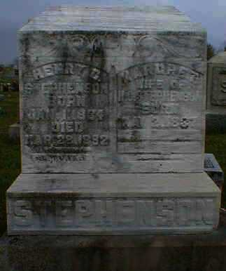 STEPHENSON, HENRY - Gallia County, Ohio | HENRY STEPHENSON - Ohio Gravestone Photos