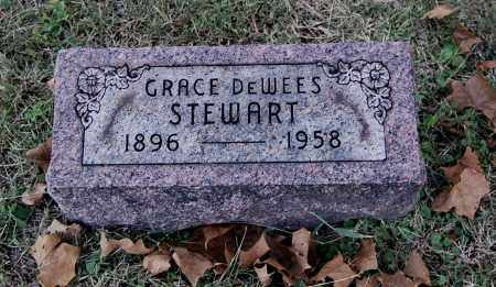 DEWEES STEWART, GRACE - Gallia County, Ohio | GRACE DEWEES STEWART - Ohio Gravestone Photos
