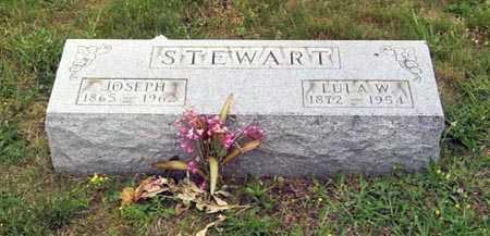 WAGONER STEWART, LUCINDA ELLEN - Gallia County, Ohio | LUCINDA ELLEN WAGONER STEWART - Ohio Gravestone Photos