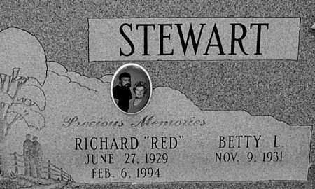 "STEWART, RICHARE ""RED"" (CLOSE-UP) - Gallia County, Ohio 