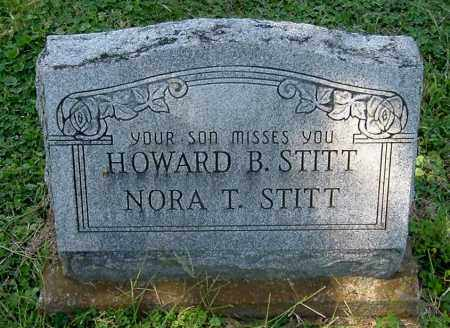 STITT, NORA T - Gallia County, Ohio | NORA T STITT - Ohio Gravestone Photos