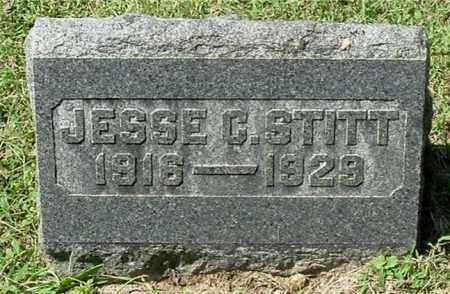 STITT, JESSE CALVIN - Gallia County, Ohio | JESSE CALVIN STITT - Ohio Gravestone Photos