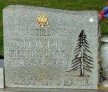 STOVER, IRA H (CLOSE-UP) - Gallia County, Ohio | IRA H (CLOSE-UP) STOVER - Ohio Gravestone Photos