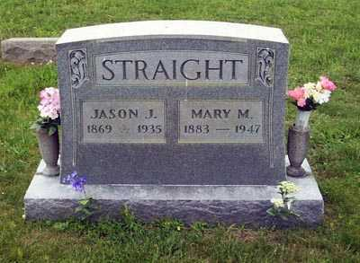 STRAIGHT, MARY - Gallia County, Ohio | MARY STRAIGHT - Ohio Gravestone Photos