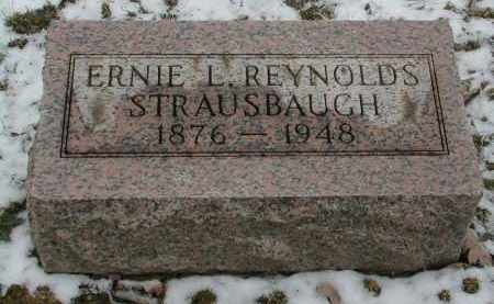 STRAUSBAUGH, ERNIE - Gallia County, Ohio | ERNIE STRAUSBAUGH - Ohio Gravestone Photos