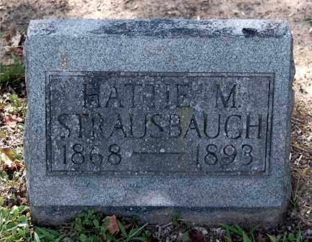 STRAUSBAUGH, HATTIE M - Gallia County, Ohio | HATTIE M STRAUSBAUGH - Ohio Gravestone Photos