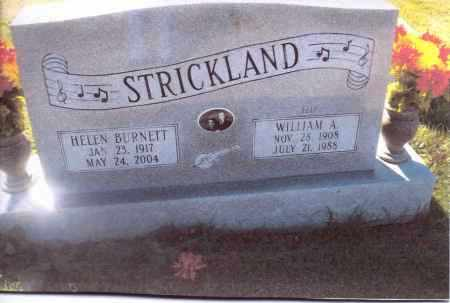 STRICKLAND, WILLIAM A. - Gallia County, Ohio | WILLIAM A. STRICKLAND - Ohio Gravestone Photos