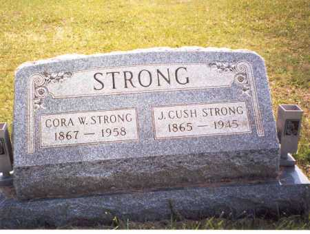 STRONG, J. CUSH - Gallia County, Ohio | J. CUSH STRONG - Ohio Gravestone Photos