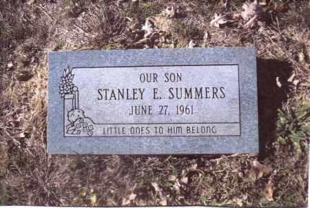 SUMMERS, STANLEY E. - Gallia County, Ohio | STANLEY E. SUMMERS - Ohio Gravestone Photos