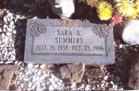 SUMMERS, SARA A. - Gallia County, Ohio | SARA A. SUMMERS - Ohio Gravestone Photos