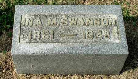 SWANSON, INA MAY - Gallia County, Ohio | INA MAY SWANSON - Ohio Gravestone Photos