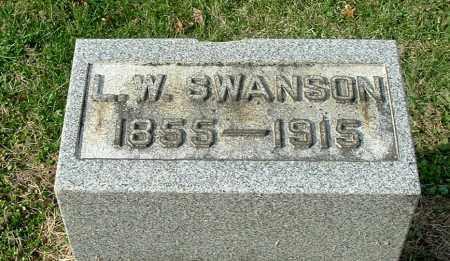 SWANSON, LEONIDAS WILLIAM - Gallia County, Ohio | LEONIDAS WILLIAM SWANSON - Ohio Gravestone Photos