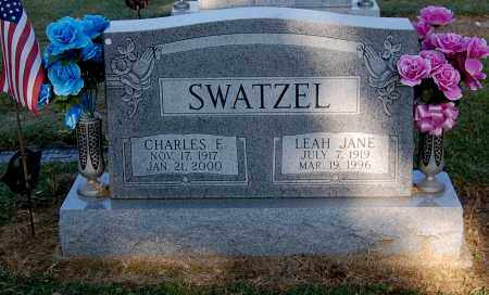 SWATZEL, LEAH JANE - Gallia County, Ohio | LEAH JANE SWATZEL - Ohio Gravestone Photos