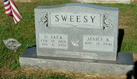 SWEESY, JANICE K - Gallia County, Ohio | JANICE K SWEESY - Ohio Gravestone Photos