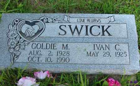 SWICK, GOLDIE M. - Gallia County, Ohio | GOLDIE M. SWICK - Ohio Gravestone Photos
