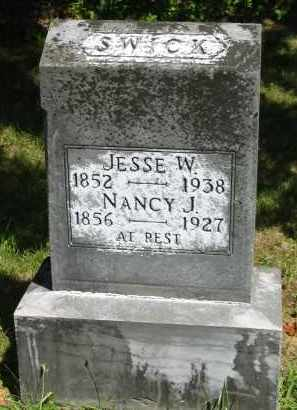 SWICK, NANCY J. - Gallia County, Ohio | NANCY J. SWICK - Ohio Gravestone Photos
