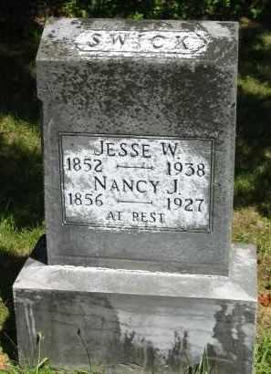 SWICK, JESSE W. - Gallia County, Ohio | JESSE W. SWICK - Ohio Gravestone Photos