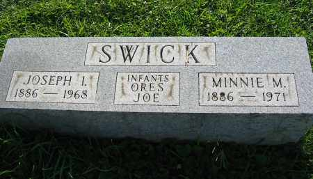 SWICK, JOE  (INFANT) - Gallia County, Ohio | JOE  (INFANT) SWICK - Ohio Gravestone Photos