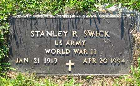 SWICK, STANLEY R. - Gallia County, Ohio | STANLEY R. SWICK - Ohio Gravestone Photos