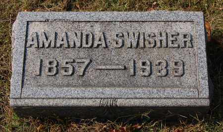 SWISHER, AMANDA - Gallia County, Ohio | AMANDA SWISHER - Ohio Gravestone Photos
