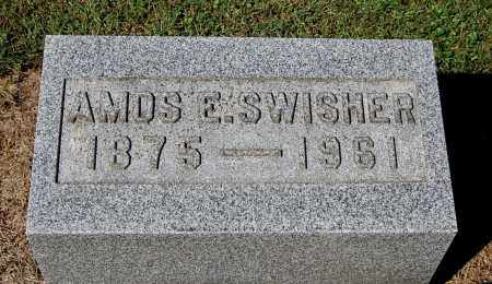 SWISHER, AMOS E - Gallia County, Ohio | AMOS E SWISHER - Ohio Gravestone Photos