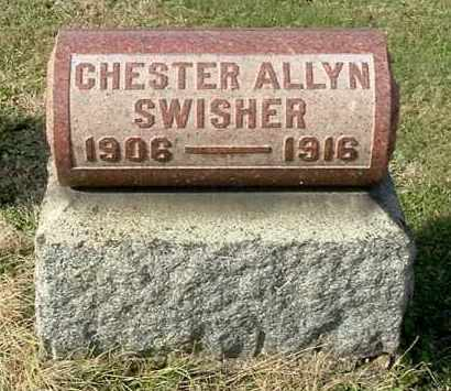 SWISHER, CHESTER ALLYN - Gallia County, Ohio | CHESTER ALLYN SWISHER - Ohio Gravestone Photos
