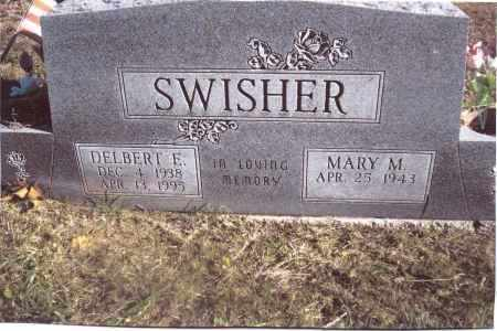 SWISHER, MARY M. - Gallia County, Ohio | MARY M. SWISHER - Ohio Gravestone Photos
