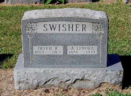 JAMES SWISHER, ANN LENORA - Gallia County, Ohio | ANN LENORA JAMES SWISHER - Ohio Gravestone Photos