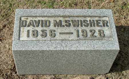 SWISHER, DAVID M - Gallia County, Ohio | DAVID M SWISHER - Ohio Gravestone Photos
