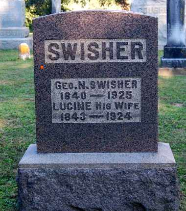 KING SWISHER, LUCINE - Gallia County, Ohio | LUCINE KING SWISHER - Ohio Gravestone Photos