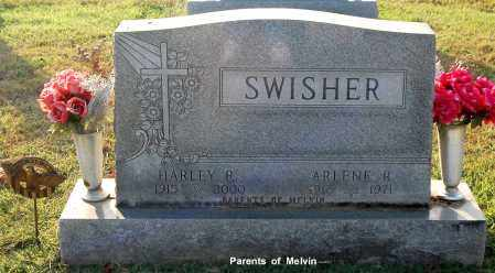 SWISHER, HARLEY R - Gallia County, Ohio | HARLEY R SWISHER - Ohio Gravestone Photos
