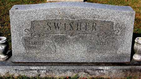 SWISHER, HAROLD D - Gallia County, Ohio | HAROLD D SWISHER - Ohio Gravestone Photos