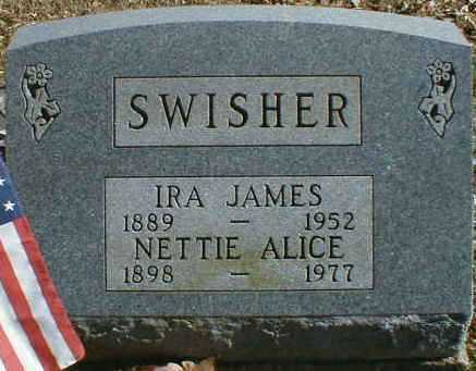 SWISHER, IRA - Gallia County, Ohio | IRA SWISHER - Ohio Gravestone Photos