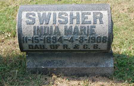 SWISHER, INDIA MARIE - Gallia County, Ohio | INDIA MARIE SWISHER - Ohio Gravestone Photos