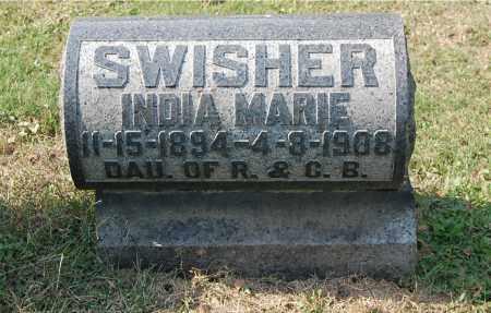 SWISHER, INDIA MARIE - Gallia County, Ohio   INDIA MARIE SWISHER - Ohio Gravestone Photos