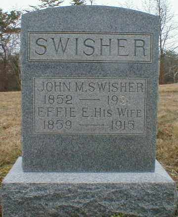 SCOTT SWISHER, EFFIE - Gallia County, Ohio | EFFIE SCOTT SWISHER - Ohio Gravestone Photos