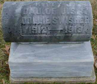 SWISHER, KITTY - Gallia County, Ohio | KITTY SWISHER - Ohio Gravestone Photos