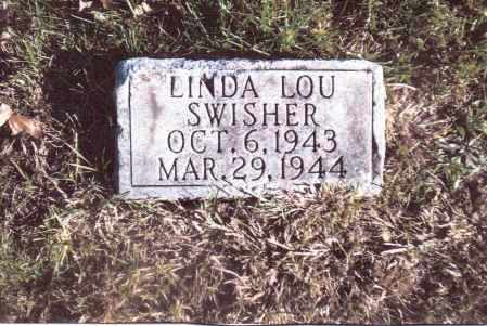 SWISHER, LINDA LOU - Gallia County, Ohio | LINDA LOU SWISHER - Ohio Gravestone Photos