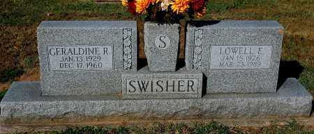 SWISHER, GERALDINE R - Gallia County, Ohio | GERALDINE R SWISHER - Ohio Gravestone Photos