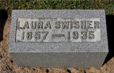 SWISHER, LAURA - Gallia County, Ohio | LAURA SWISHER - Ohio Gravestone Photos