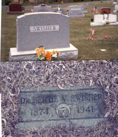 SWISHER, M.D., BERTIE V. - Gallia County, Ohio | BERTIE V. SWISHER, M.D. - Ohio Gravestone Photos