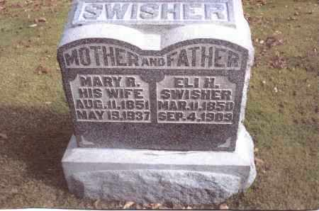 SWISHER, ELI H. - Gallia County, Ohio | ELI H. SWISHER - Ohio Gravestone Photos