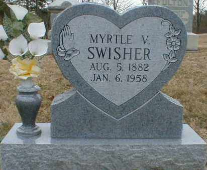 SWISHER, MYRTLE - Gallia County, Ohio | MYRTLE SWISHER - Ohio Gravestone Photos