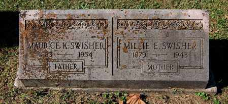 SWISHER, MILLIE E - Gallia County, Ohio | MILLIE E SWISHER - Ohio Gravestone Photos