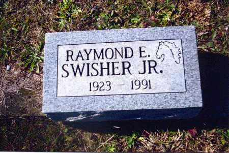 SWISHER, RAYMOND E. - Gallia County, Ohio | RAYMOND E. SWISHER - Ohio Gravestone Photos