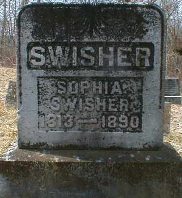 MCCARTY SWISHER, SOPHIA - Gallia County, Ohio | SOPHIA MCCARTY SWISHER - Ohio Gravestone Photos