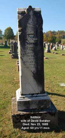 SWISHER, SARAH - Gallia County, Ohio | SARAH SWISHER - Ohio Gravestone Photos