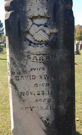 SWISHER, SARAH (CLOSE-UP) - Gallia County, Ohio | SARAH (CLOSE-UP) SWISHER - Ohio Gravestone Photos